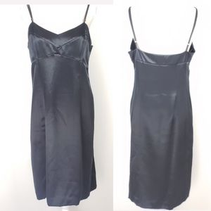 Banana Republic Black Spaghetti Strap Dress 14